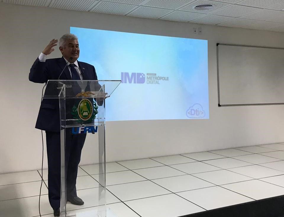 Ciência Conectada, RNP, MCTIC, IMD, PoP-RN, ministro Marcos Pontes