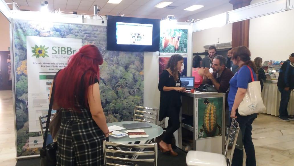 SiBBr marca presença no XXXIII Congresso Brasileiro de Zoologia