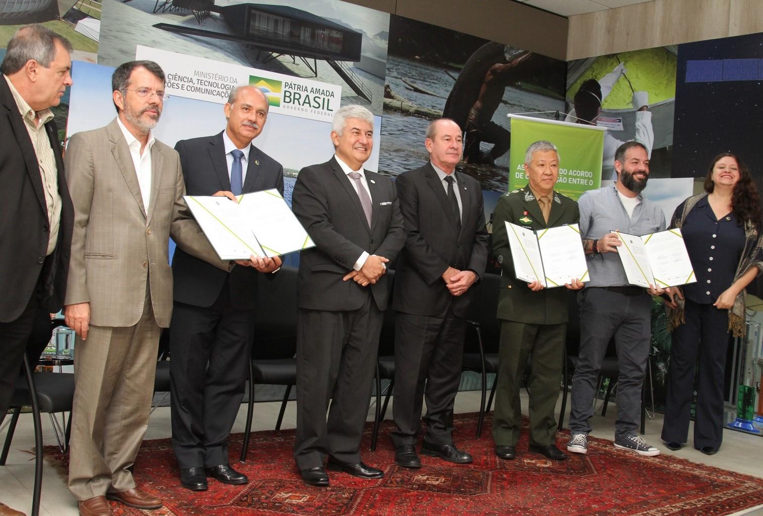 Acordo de Cooperação assinado por RNP, MCTIC, Instituto Laura e HFA