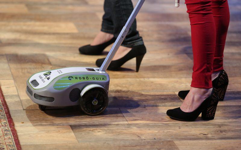 Cão-guia robô Lysa
