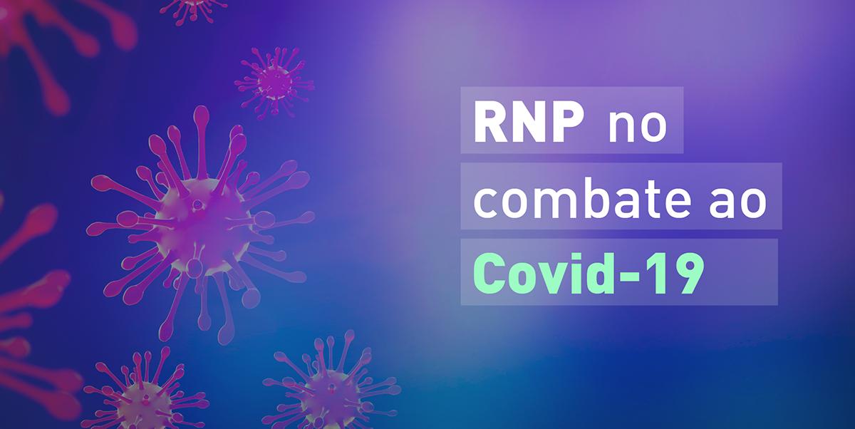 Banner RNP no combate ao Covid-19