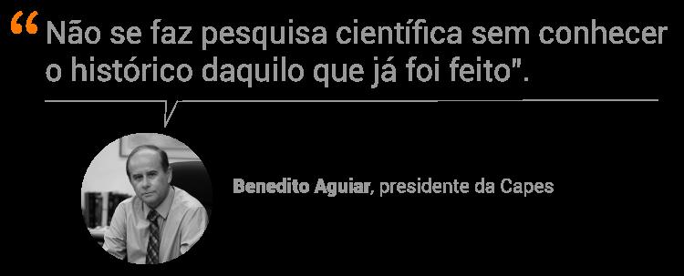Benedito Aguiar, presidente da Capes