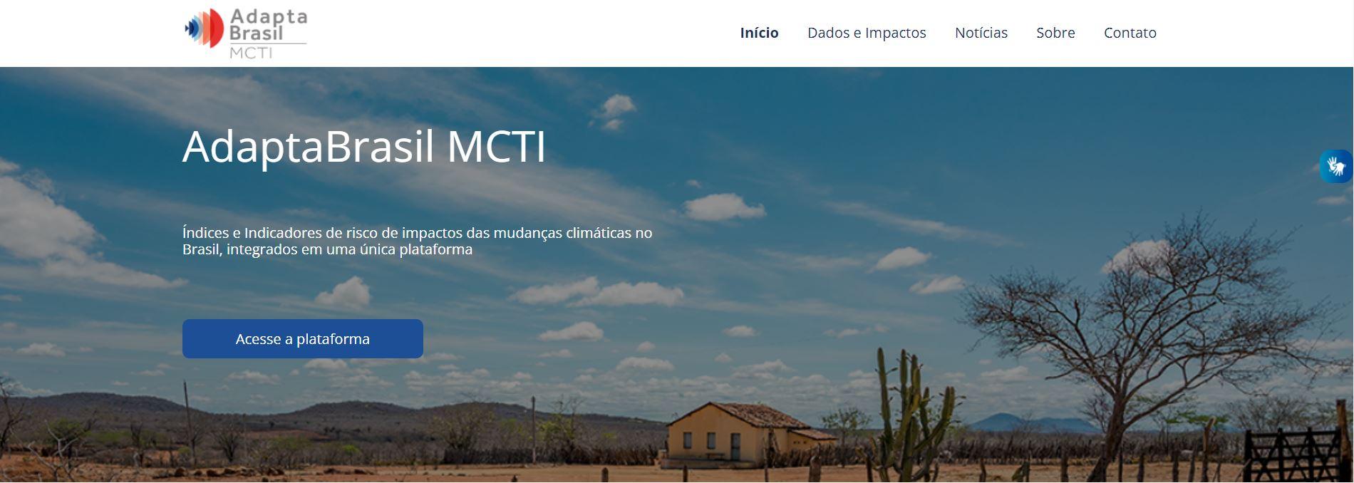 AdaptaBrasil MCTI
