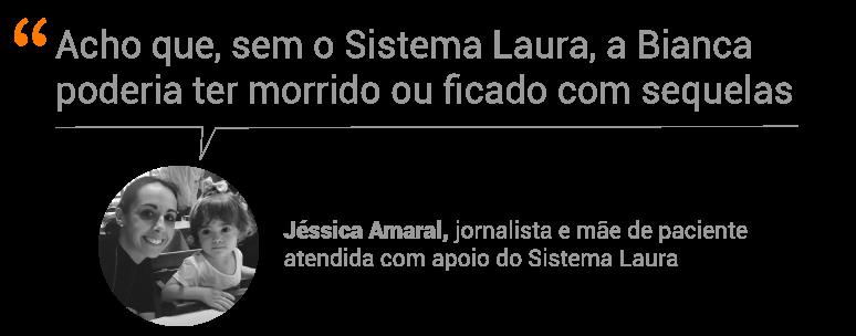 Jéssica e Bianca Amaral vivenciaram as duras estatísticas da Sepse