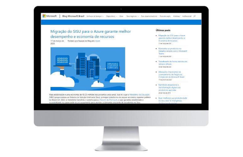 Migração do SISU para o Azure garante melhor desempenho e economia de recursos