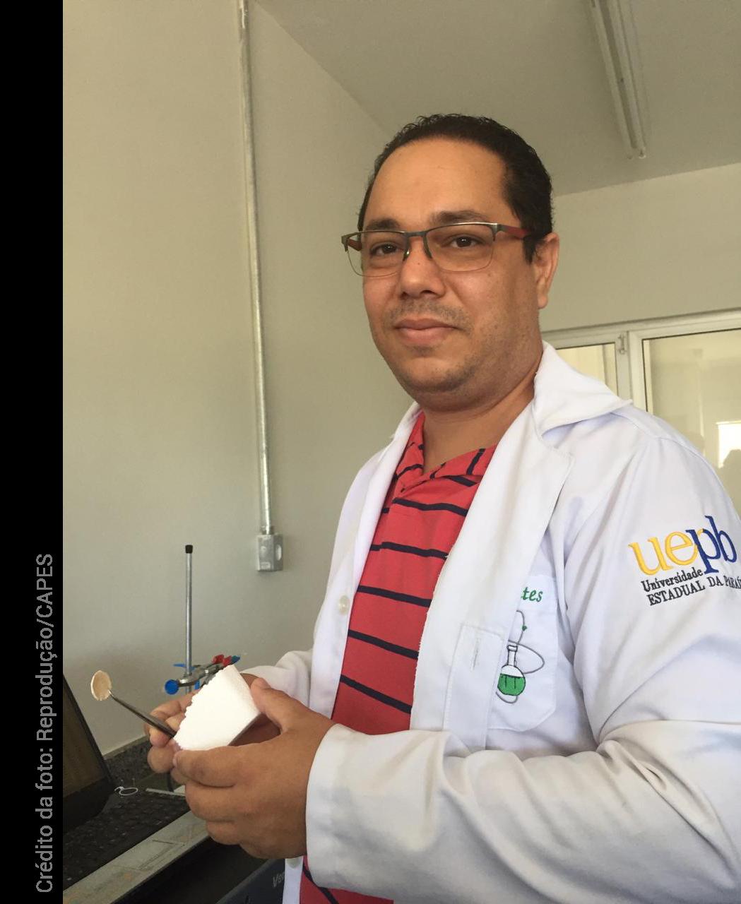Rodrigo Oliveira, professor no PPG de Química na Universidade Estadual da Paraíba (UEPB)