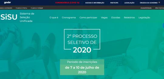 Segunda edição do Sisu de 2020 é operado em nuvem: veja a performance